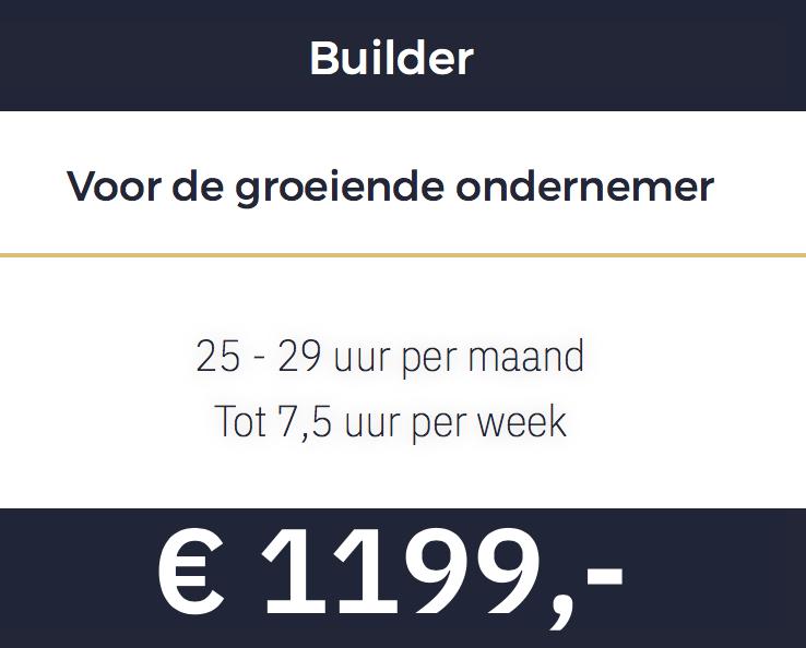 Builder pakket VA